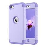 Funda Para Apple iPod Touch 5/6/7 Generacion (violeta)