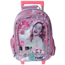 Mochila Carro Grande Violetta Monster High Barbie Original