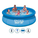 Pileta Inflable Intex 305x76+bomba+filtro+cobertor+6 C S/int