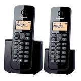 Telefono Inalambrico Panasonic Duo Kx-tgb112 Base Doble Id