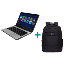 Notebook Cx 4gb 500gb Win10 + Mochila Zom Impermeable Oferta