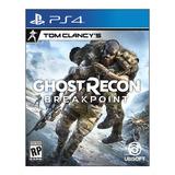 Tom Clancy's Ghost Recon Breakpoint Juego Ps4 Nuevo Fisico