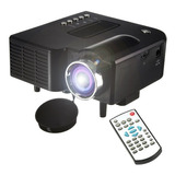 Mini Proyector Led Portable Soporta 1080p Hdmi Usb Av Sd Vga