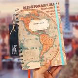 Cuaderno De Viaje Libreta Diario Bitacora Viajeros Regalo
