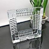 Cenicero Cristal Ideal Bar Casa Regalo 10 X 10 Cm