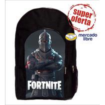 Mochila C/bolsillo Fortnite  Reforzada Compadretes Fnaf Bts