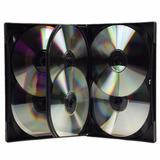 Axexshop Caja Multiple Para 6 Discos Dvd's/cd Oferta