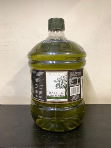 Aceite De Oliva Extra Virgen  X 2 Litros Cia Aceitunera