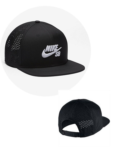 Gorra Nike Sb Plana Original Negra Ultima Disponible en venta en ... 93e60789dcd