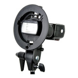 Bracket Godox P/ Flash De Zapata Speedlite Canon Nikon