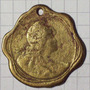 Medalla Jesus Maria Dorada 9.9gr 31mm 1816 9de Julio 1911