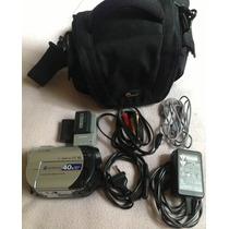 Filmadora Sony Handycam Dcr-dvd108 40x+bolso+bateria Extra