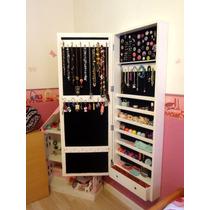 Espejo Joyero - Organizador De Cosmeticos - Alhajero
