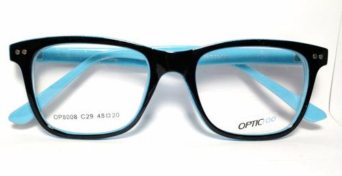 Armazones Para Lentes Gafas Marcos Para Anteojos Colores - $ 595 en ...