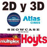 Codigos 2x1 3d Y 2d Para Cine Hoyts, Cinemacenter, Atlas...