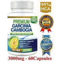 Pure Garcinia Cambogia 3000 Mg 95 % Hca, Advanced Formula