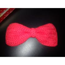 Moños Vinchas Accesorios Para Niñas. Tejidos Al Crochet
