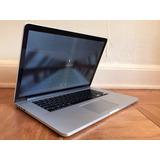 Macbook Pro Retina 15 2013 I7 2.5 16g 500g Graficos 2g Caja