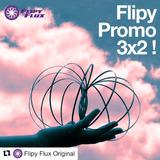 Promo 3 X 2 ! Flipyflux© Original. Toroide - Aro Quinético