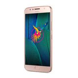 Celular Libre Motorola Moto G5s Plus Gold