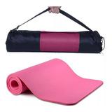 Yoga Colchoneta Neoprene 10mm Fitness Gym Fitness Mat  Bolso