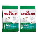 2 Royal Canin Mini Adulto 7.5 Kg Perro Adulto El Molino