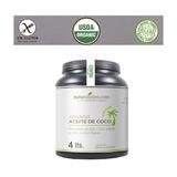 Aceite Coco Tarro Grande 4 Litros Extravirgen Organico