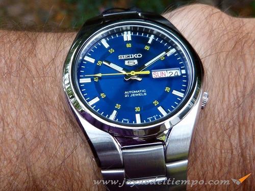 Reloj Seiko 5 Automatico Acero Inox. Snk615k1 C  Gtia 3a46bcc186f9