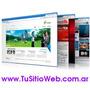 Diseño Páginas Web Sitio Autoadministrable Tu Negocio Online