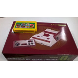 Consola Family Game Nuevo Completo + Cartucho De 114 Juegos
