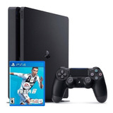 Consola Play Station 4 Slim 1tb Ps4 Joystick Fifa 19 Sellado