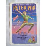 Programa En Inglés Del Musical *peter Pan* Sandy Duncan