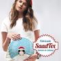 Remeron Modal Dama Embarazada Curvo Lisos Para Sublimar