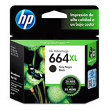 Cartucho Original Hp 664xl Negro Para 2135 3635 4535 4675