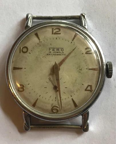 ab0a38eab66b Antigua Máquina Reloj Suizo Colección Marca Fero-a Reparar