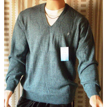 Sweater P/hombre Mauro Sergio Escote En V Oferta Imperdible!