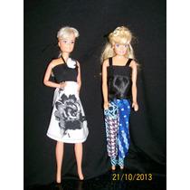 Indumentaria Para Barbies - Ropa De Confección Y/o Tejida.