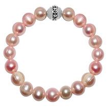 Pulsera Monona Plata 925 Magical Perlas Rosas Tienda Oficial