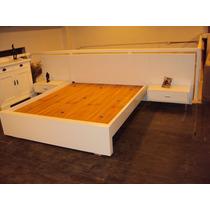 Cama De 2 Plazas Para Colchón De 1,60 X 1,90