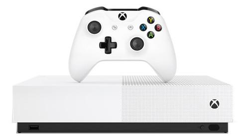 Microsoft Xbox One S 1tb All-digital Edition: Minecraft/sea Of Thieves/fortnite Batlle Royale Blanco