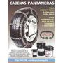 Cadenas Para Nieve Y Barro Autos Llanta 14