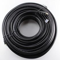 Cable Hdmi 30mts V1.4 Oro 3d Ultra Hd 4k Reforza Led 1° Htec