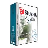 Sketchup Pro 2019 + Vray 4.0 - Envio Inmediato