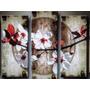 Cuadros Pinturas Trípticos Romantique Texturado