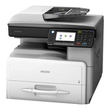 Impresora Multifunción Ricoh Aficio Mp 301spf 110v Gris Y Negra