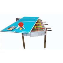 Metegol Fundicon + Ping Pong Oferta Dia Niño Yeerom®