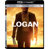 Logan  4k Ultra Hd + Blu-ray Nuevo Importado Original