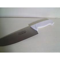 Cuchillo Profesional 30 Cm + Chaira Belgrano Y Flores