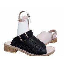 Sandalias Mujer Hebilla Zapatos Bajas Primavera Verano 2019