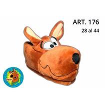 Pantuflas Scooby Doo Del Talle 28 Al 46